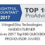 Haiden Turner 2017 Top QuickBooks ProAdvisor, Integrations