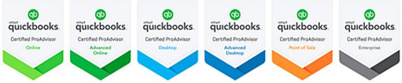 Winged Disc Technologies - QuickBooks ProAdvisor Badges