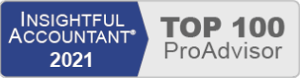 Haiden Turner Winged Disc Technologies - 2021 Insightful Accountant Top 100 ProAdvisor Award